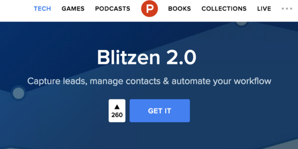Blitzen Does Product Hunt: Redux